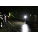 トライアスロン・コース照明